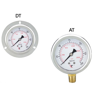Glycerine Filled Bourdon Tube Pressure Gauge